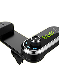 cheap -F1 Bluetooth Car FM transmitter handsfree car kit air vent phone holder MP3 player with AUX audio receiver for iPhone