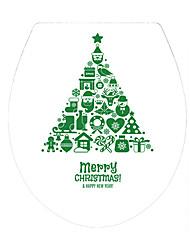 economico -Natale Parole e citazioni Forma Adesivi murali Adesivi 3D da parete Adesivi toilet 3D,Vinile Materiale Decorazioni per la casa Sticker