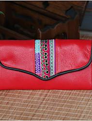 economico -Da donna Sacchetti PU (Poliuretano) Pochette Cerniera per Casual Per tutte le stagioni Blu Rosso Giallo
