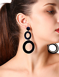 cheap -Women's Drop Earrings / Front Back Earrings / Ear Jacket - Infinity Oversized Green / Wine / Dark Navy For Party / Daily