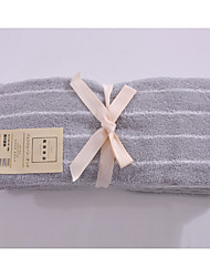 Недорогие -Свежий стиль Полотенца для мытья,В полоску Высшее качество Чистый хлопок Полотенце