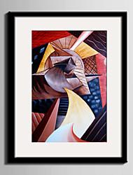 baratos -Quadros Emoldurados Conjunto Emoldurado Abstrato Lazer Fantasia Arte de Parede, PVC Material com frame Decoração para casa Arte Emoldurada