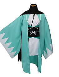 Inspired by Fate/Zero Okita Souji Anime Cosplay Costumes Cosplay Suits Kimono Solid Color Geometic Long Sleeves Coat Shirt Headpiece