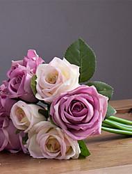 Недорогие -1 Филиал Шелк Искусственные Цветы