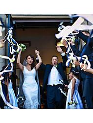Gros grain Legno Pizzo Decorazioni di nozze-Matrimonio Party/serata