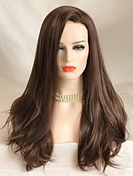 cheap -Uniwigs Women Synthetic Wig Lace Front Long Wavy Brown Natural Wigs Costume Wig