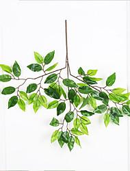 47cm 3 peças decoração para casa plantas artificiais banian ramos de árvore
