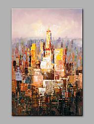 economico -Dipinta a mano Astratto Verticale, Modern Tela Hang-Dipinto ad olio Decorazioni per la casa Un Pannello