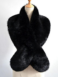 Women's Rex Rabbit Fur Infinity Scarf Solid Fall Winter