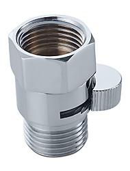 valvola a pressione per doccia valvola di regolazione dell'acqua in ottone solido per spruzzatore a bidet o doccia in cromo lucidato