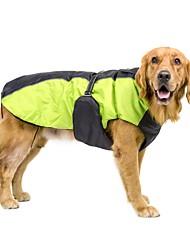 Cachorro Casacos Colete Camisa de ansiedade de cachorro Roupas para Cães Lã Polar nylon PVA Primavera/Outono Inverno Casual Mantenha