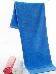 Недорогие -Свежий стиль Спортивное полотенце,Однотонный Высшее качество 100% хлопок Полотенце