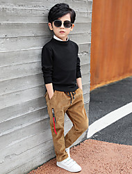 economico -Pantaloni Da ragazzo Cotone Con stampe Inverno