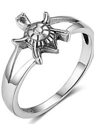 Недорогие -Жен. Классические кольца обожаемый Стерлинговое серебро В форме животных Черепаха Бижутерия Назначение фестиваль