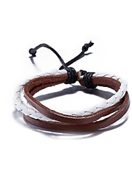 Women's Leather Bracelet Punk Hip-Hop Leather Jewelry For Daily Street