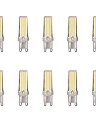 economico -10 pezzi 4W G9 Luci LED Bi-pin 1 leds COB Bianco caldo Luce fredda 400lm 3500/6500K AC 220-240V