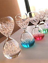 cheap -1Pcs Magic Glass Bubble Hourglass Girl Room Decoration Accessories Gifts For Student Desk