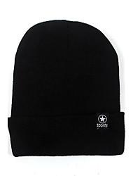 Da uomo Per tutte le stagioni Maglia Maglina Cappelli Cappello di lana,Con stampe Classico