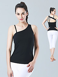 cheap -Yoga Top Quick Dry Lightweight Stretchy Breathability Stretchy Sports Wear Yoga Running/Jogging Pilates Exercise & Fitness Jogging Women's