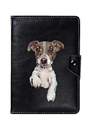 abordables -caja universal de la cubierta del soporte de la PU del perro para 7 pulgadas 8 pulgadas 9 pulgadas 10 pulgadas tableta PC