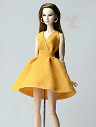 cheap -Dresses Dress For Barbie Doll Dresses For Girl's Doll Toy