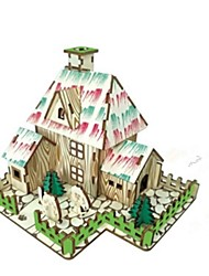 DIY KIT 3D Puzzles Jigsaw Puzzle Logic & Puzzle Toys Toys House Animals 3D Houses Fashion Kids Hot Sale Classic Fashion New Design Kids 1