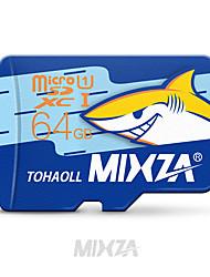 scheda di memoria di mixza scheda micro SD 64gb class10 micro SD di memoria flash per smartphone / tablet