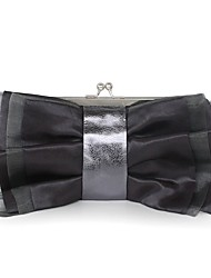 cheap -Women Bags Silk Clutch Sashes/ Ribbons for Event/Party Casual All Seasons Coffee Light Gray