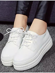 cheap -Women's Shoes Breathable Mesh Spring Fall Comfort Sneakers For Casual Outdoor Black White