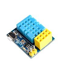 Недорогие -esp8266 esp-01 esp-01s dht11 модуль температуры влажности wifi-узла не содержит беспроводного модуля
