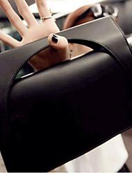 cheap -Women Bags PU Evening Bag Buttons for All Seasons Black