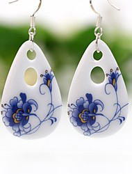cheap -Women's Drop Earrings Hoop Earrings China Drop Jewelry Blue Party Going out Costume Jewelry