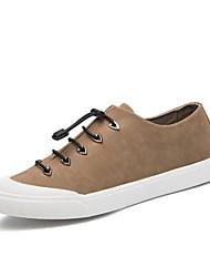 abordables -Homme Chaussures Cuir Automne / Hiver Chaussures de plongée / Confort Basket Noir / Gris / Kaki