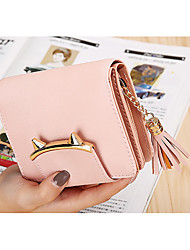 cheap -Women Bags PU Wallet Zipper for Event/Party Shopping All Seasons Blue Black Blushing Pink Gray Light Purple