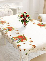 1Pcs 110X180Cm Rectangular Disposable Table Cloth Christmas Tablecloth Home Decoration