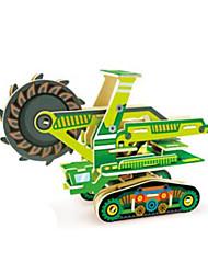 cheap -RUOTAI 3D Puzzle Vehicles Excavating Machinery Wood 1pcs Underground - Hard Rock Kid's Adults' Gift