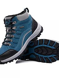 cheap -Men's Shoes PU Spring Fall Light Soles Athletic Shoes Hiking Shoes Lace-up For Athletic Army Green Blue