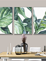 cheap -Frame Art Botanical Wall Art, Steel Material With Frame Home Decoration Frame Art Living Room