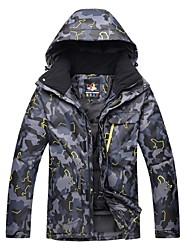 cheap -Men's Ski Jacket Thermal / Warm Windproof Skiing Ski / Snowboard Winter Sports