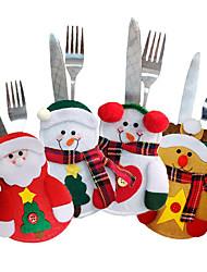 abordables -Animales Inspirador Muñecos de Nieve Santa Copo Día Festivo Ocio Palabras y Frases Navidad Año NuevoForDecoraciones de vacaciones