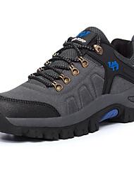Беговые кроссовки Альпинистские ботинки Универсальные Воздухопроницаемость Спорт в свободное время Низкое голенище Замша Резина