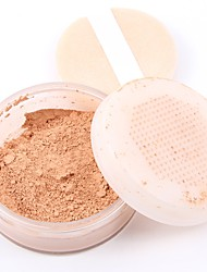 3 Powder Concealer/Contour Dry Matte Mineral Loose powder Whitening Oil-control Long Lasting Natural Face
