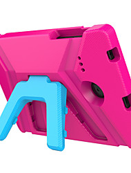 Кейс для Назначение SSamsung Galaxy Tab E 8.0 Безопасно для детей Задняя крышка Сплошной цвет Твердый EVA для Tab E 8.0