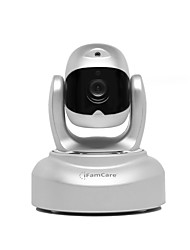 iFamCare Helmet 1080p Wi-Fi Remote Pet Cam Monitor with Pet Laser Silver