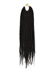 Косы переплетенный Афро Гавана Твист Средний коричневый 35 см Волосы для кос Наращивание волос