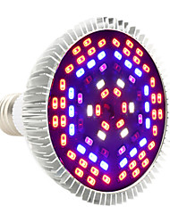 cheap -YWXLight® 12W E27 LED Grow Lights PAR30 78 SMD 5730 1050-1150 lm Purple AC85-265 V 1 pc