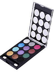 cheap -12 Eyeshadow Palette Shimmer Mineral Eyeshadow palette Daily Makeup Halloween Makeup Party Makeup Fairy Makeup Cateye Makeup Smokey Makeup