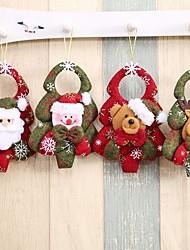 cheap -1Pcs Christmas Tree Santa Claus Pendants Drop Christmas Decorations For Home