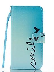 Недорогие -Кейс для Назначение SSamsung Galaxy Бумажник для карт Кошелек со стендом Флип Магнитный С узором Чехол Слова / выражения Твердый Кожа PU