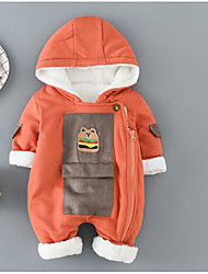 Baby Kids Others One-Pieces,Others Winter Fall Black Orange